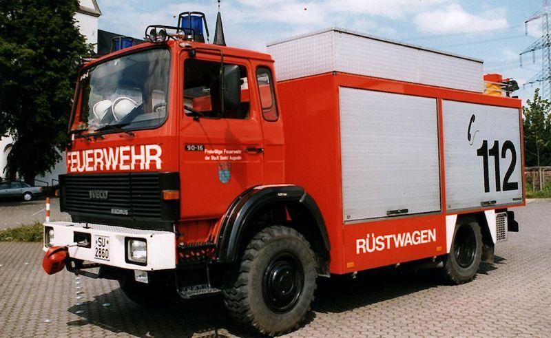 Rüstwagen im Dienst von 1991 bis 2013