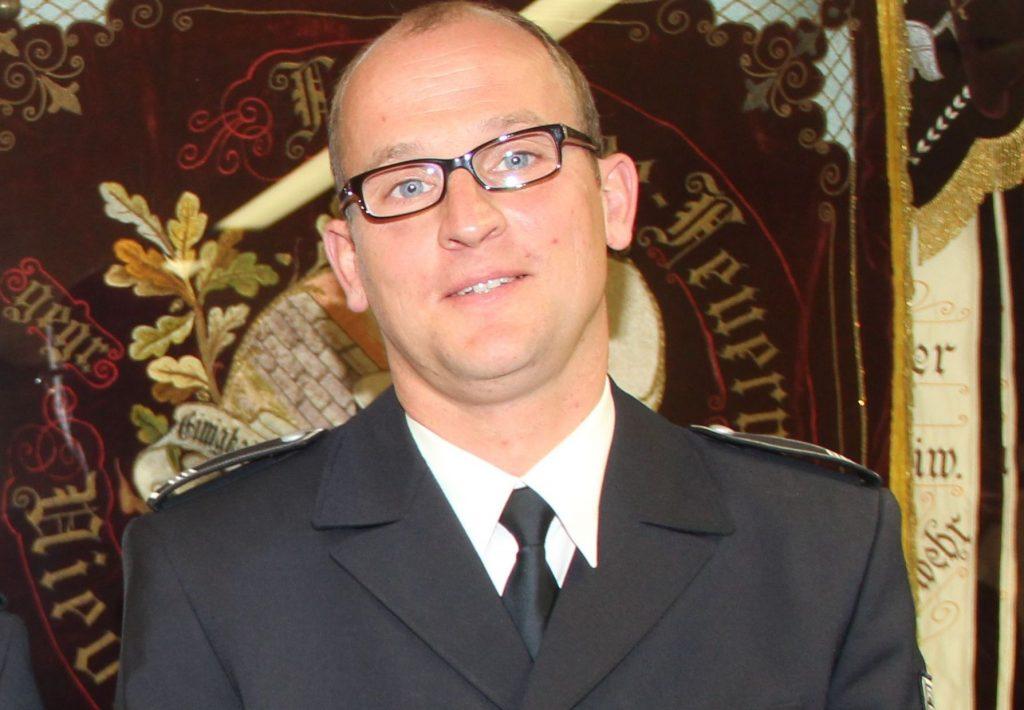 Brandoberinspektor Torsten Hölzer