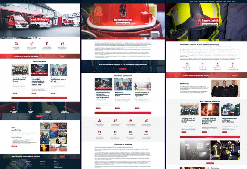 Darstellung der neuen Seiten nach dem Relaunch der Website